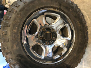 4 tires on rims 265/70/17