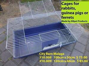 RABBIT AND GUINEA PIG CAGES - GREAT RANGE!! Malaga Swan Area Preview