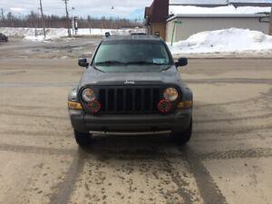 2005 jeep libert  renegade