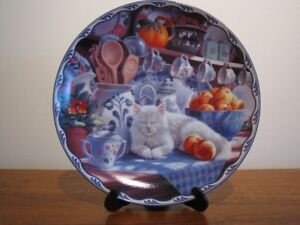 Cat plate from Bradford Exchange