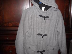 size 10 grey hooded dress coat- gymboree Windsor Region Ontario image 1