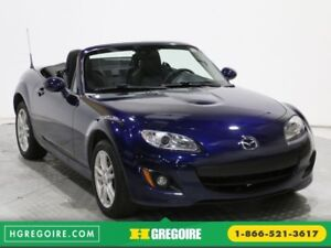 2011 Mazda MX-5 GX CONVERTIBLE MANUELLE MAGS A/C GR ELECT