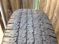 Set of 4 Goodyear wrangler ST 265/70R17 tires