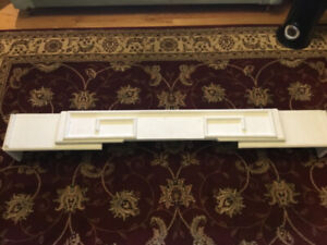Art Deco wooden window valance box,  architectural salvage