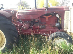 55 Massey tractor
