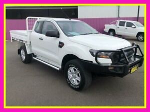 2017 Ford Ranger PX MkII MY17 Update XL 3.2 (4x4) White 6 Speed Manual Super Cab Chassis Dubbo Dubbo Area Preview
