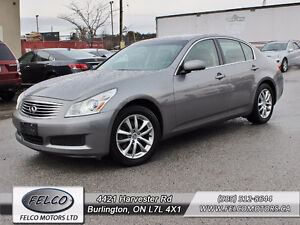 2007 Infiniti G35X - AWD | CERTIFIED ETESTED | ACCIDENT FREE