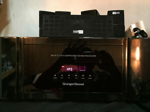 Incredible surround system with 10 speakers Kitchener / Waterloo Kitchener Area image 1