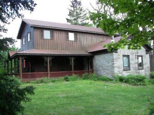 New Price - 2 Storey 3 bed 2 bath on a 1 acre lot in the Village