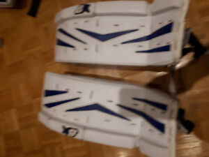 Youth goalie pads for sale Brian's  23inch
