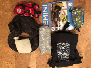 Baby carriers and shopping cart cover