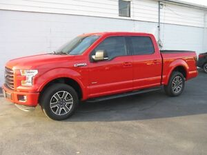 2015 FORD F-150 SPORT CREW-BLUETOOTH-POWER SEAT-18'S-CLEAN
