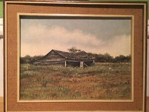 Julie Harris oil painting