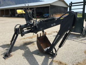 Leon BH-120, 3 point hitch Backhoe