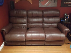 Lazboy Sofa Recliner. 2 available