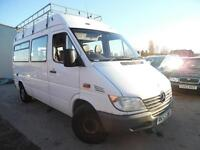 MERCEDES-BENZ SPRINTER 313 MWB MINI BUS 14 SEATER NO VAT