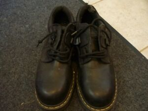 Mens Doc Martins Steel Toe Safety Shoes