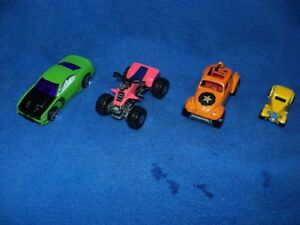 HOT WHEELS MATTEL - CAR, BUG, 4-WHEELER, HOT ROD
