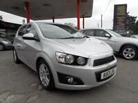13 (13) CHEVROLET AVEO 1.4 LTZ 5DR ONLY 15,300 MILES FULL DEALER HISTORY