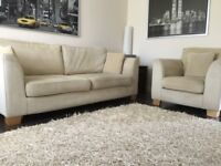 3 Seater + Armchair Suite inc Rug