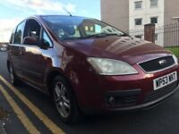 2004 53 Ford Focus c-max 1.8 zetec drives great !!!