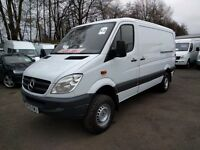 Mercedes Sprinter 318 CDI MWB 3.5T 4X4 (white) 2009