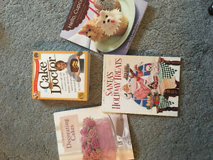 BOOKS! cake decorating, health, weight loss, recipes, cookbooks