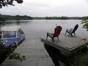 Maison de vacances au bord de l'eau à Alma