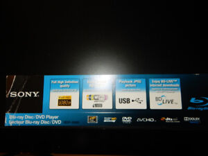 Sony BDP-S560 1080p Blu-ray Disc Player, in excellent condition