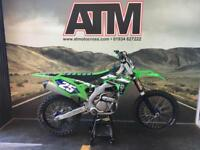 KAWASAKI KXF250 2017 MOTOCROSS BIKE, RECENT REBUILD, TALON WHEES (ATMOTOCROSS)