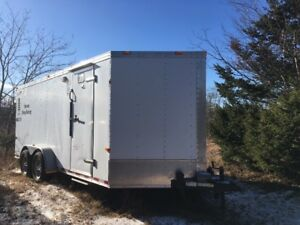 2008 Cargo Craft 19 foot Trailer