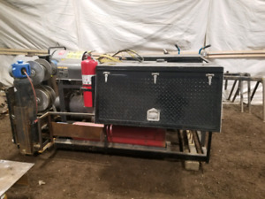 Work Ready Complete Welding Skid