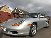 1999 PORSCHE BOXSTER 2.5 986 CONVERTIBLE 2DR MANUAL