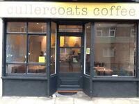 Part-time coffee shop cook, £16,000 pro rata