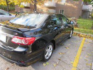 2011 Toyota Corolla S ***LOW MILEAGE 44708KM** ONE OWNER London Ontario image 2