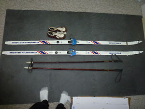 Fischer Europa Glass Skis, boots and poles