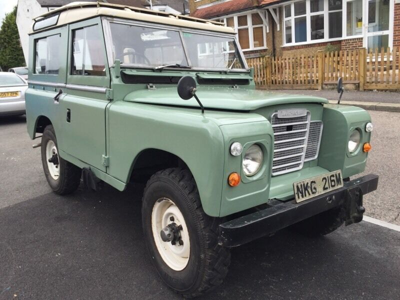 1973 Station Wagon Series 3 tax free Land Rover 200 sel | in ...
