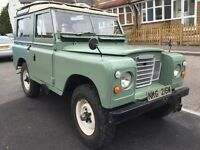 1973 Station Wagon Series 3 tax free Land Rover 200 Diesel