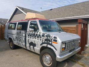 87 ford club wagon camper van $3500 OBO