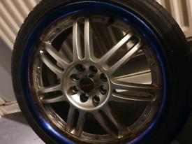 Dare 17 inch alloy wheels x4