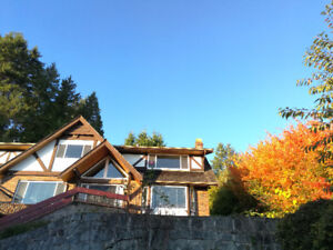 West Vancouver Ocean View House for 6+ Months