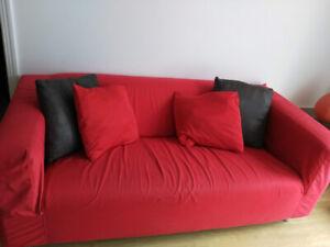 canapé/sofa 2 places