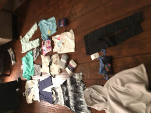 Large Girls brand new and used clothing lot