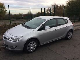 Vauxhall astra 1.6 petrol low mileage full dealer service history quick sale