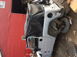 Jeep TJ Parting Out 2005