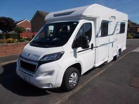 Bailey Approach 640 Advance Nearly new 2017 4 Berth Motorhome 644 miles from new