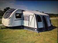 Caravan porch air Awning