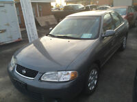 Lease to own in 24 monthsfor $145+tax p/m 2001 Nissan Sentra