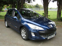 Peugeot 308 SW 1.6HDi SE**DIESEL**7 SEATS**Finance Available**PSH**PAN ROOF**