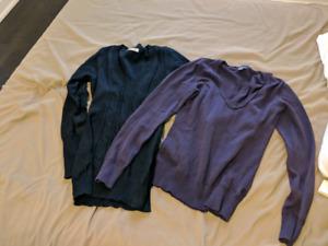 vneck sweaters (medium)